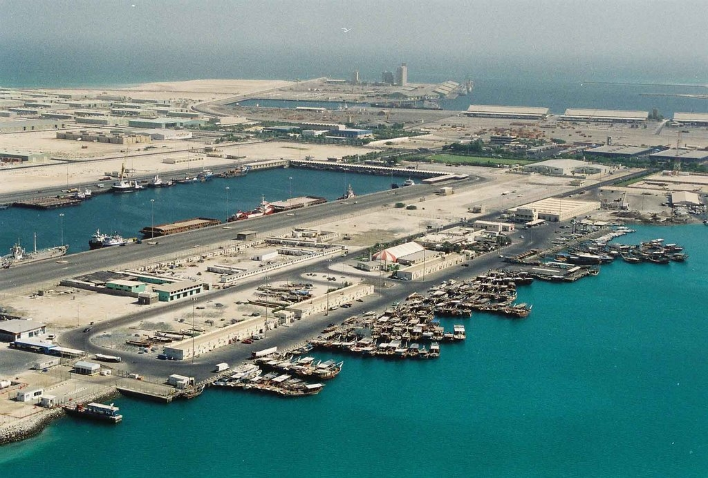 Port Zayed Development for reconstructing berths, and dredging in 1999 - 2000