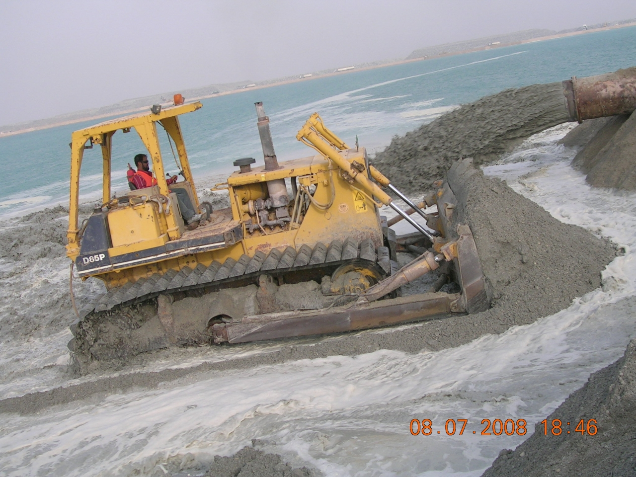 Channel Dredging and Reclamation at Sir Baniyas Island to Maharraq